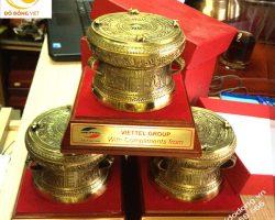Vì sao trống đồng lưu niệm là biểu tượng độc đáo của Việt nam