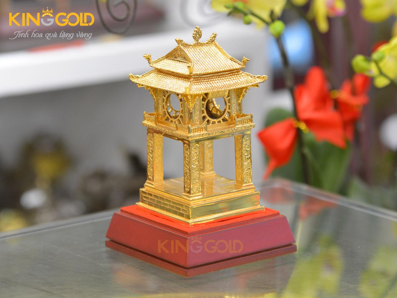 Quà tặng mạ vàng 24k sang trọng và ý nghĩa